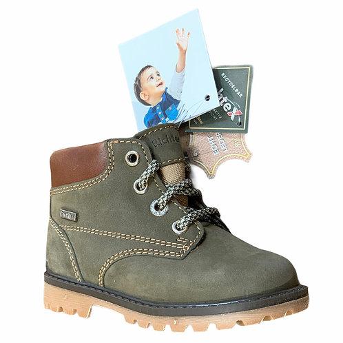 Richter scarpe scarponcini bambino impermeabili in pelle chiusura lacci