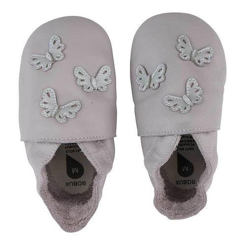 Bobux soft sole Farfalle lilla