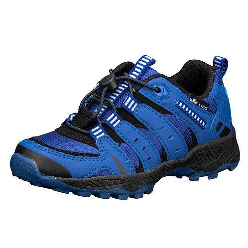 Fremont scarpe outdoor blu/azzurro con laccio elastico e cursore