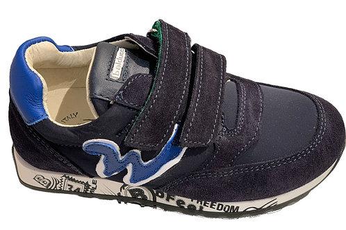 Balducci scarpe sportive fodera pelle Made in Italy chiusura strap