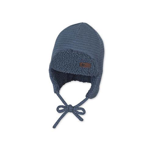 Sterntaler berretto aviatore pile caldo con laccetto 4612151 365