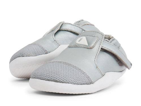 Xplorer Bobux scarpe primi passi super flessibili argento
