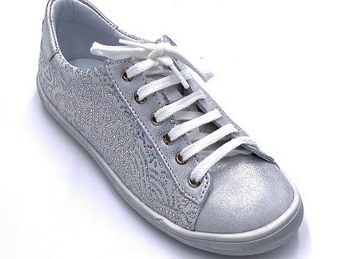 Bopy scarpe sportive in pelle laccio e cerniera