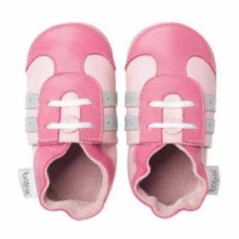 Bobux soft sole sport rosa
