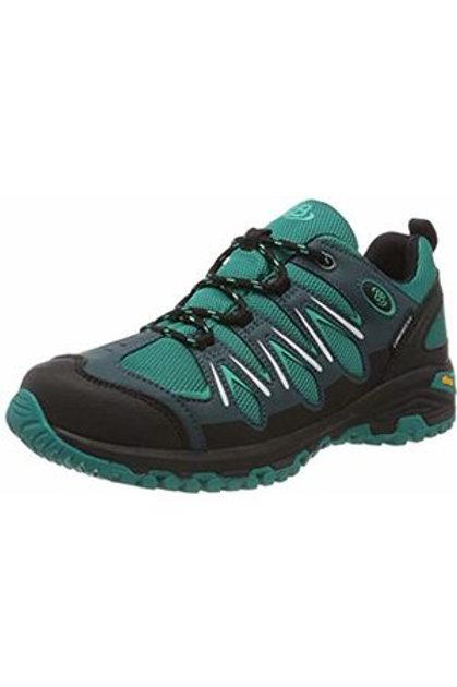 Expedition scarpe outdoor impermeabili colore petrol chiusura cursore