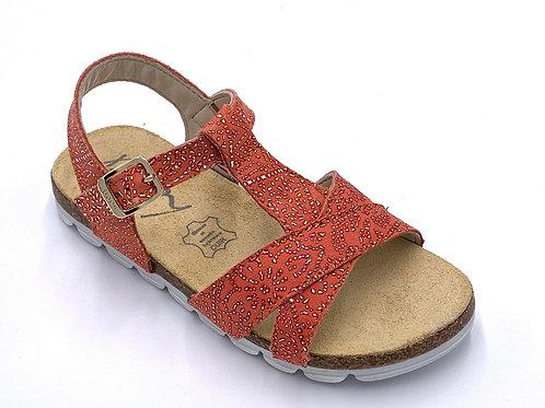 Bopy sandali anatomici in pelle con suola flessibile