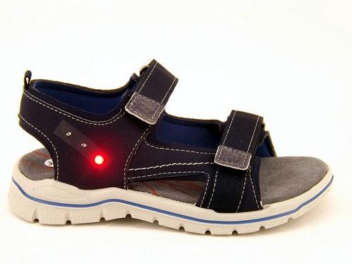 Ricosta sandali flessibili bambino chiusura velcro luci