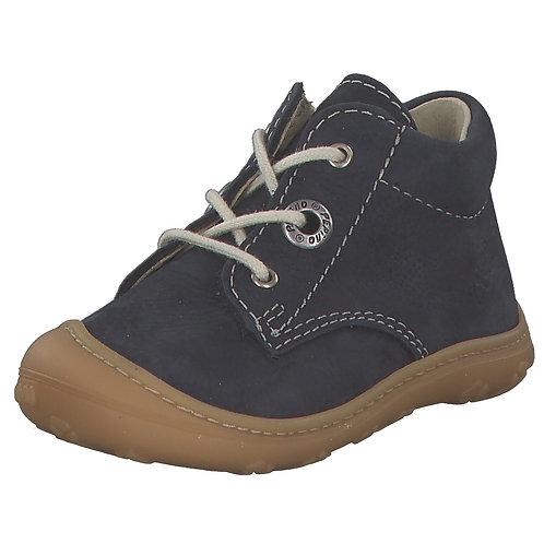 Pepino Cory scarpe primi passi nabuk naturale blu