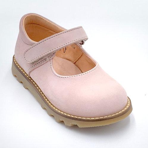 L'ecologica scarpe bebè rosa chiaro Made in Italy