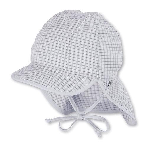 Sterntaler berretto cappello da sole con laccetto e parasole collo