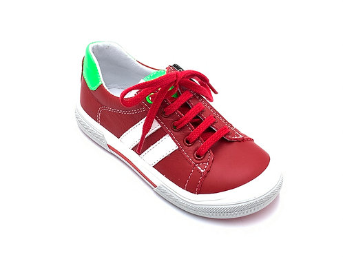 Bopy scarpe sportive pelle laccio e cerniera
