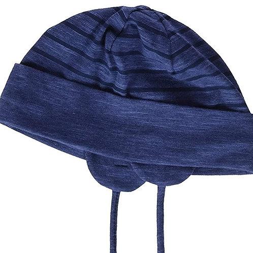 Sterntaler berretto doppio jersey cotone con laccetti