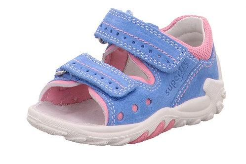 Superfit sandali primi passi bambina con velcro flessibili