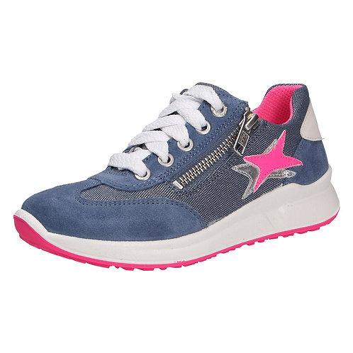 Superfit scarpe sportive ragazzina chiusura laccio + cerniera comoda