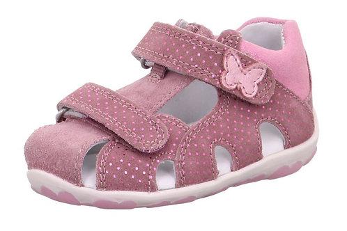 Sandali primi passi Superfit Sandalen bambina con velcro punta chiusa