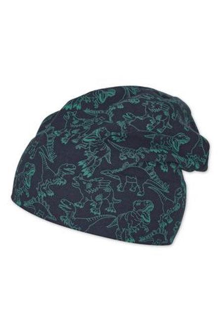 Sterntaler berretto jersey di cotone con fodera in cotone felpato