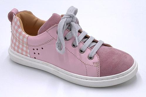 Ocra scarpe sportive in pelle certificata laccio cerniera Made in Italy