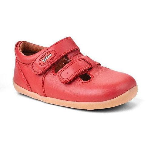 Jack & Jill Bobux scarpe semiaperte rosso