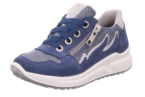 Superfit Schuhe scarpe sportive ragazzina chiusura laccio + cerniera comoda