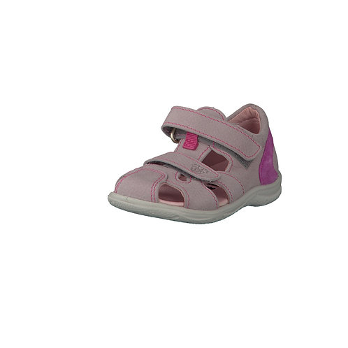 Pepino Kaspi sandali gabbietta in pelle calzata affusolata due velcri