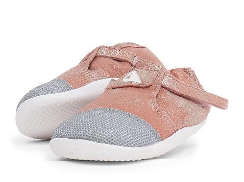 Xplorer Bobux scarpe primi passi super flessibili Pink sparkle