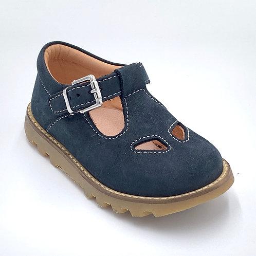 L'ecologica scarpe sandali 2 occhi blu Made in Italy