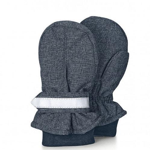 Sterntaler manopole guanti impermeabili con polsino elastico e velcro