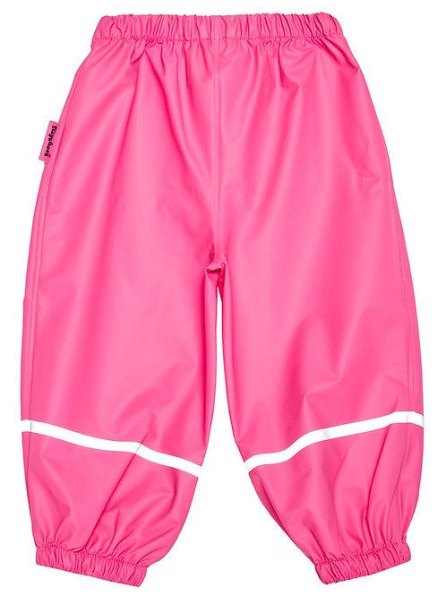 Pantaloni da pioggia senza bretelle pink
