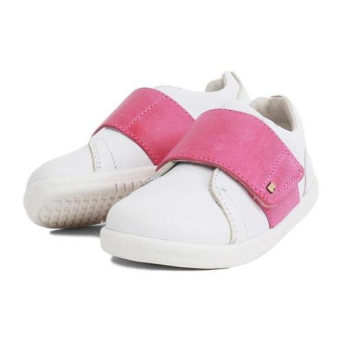 Bobux Boston Trainer scarpe sportive in pelle chiusura velcro