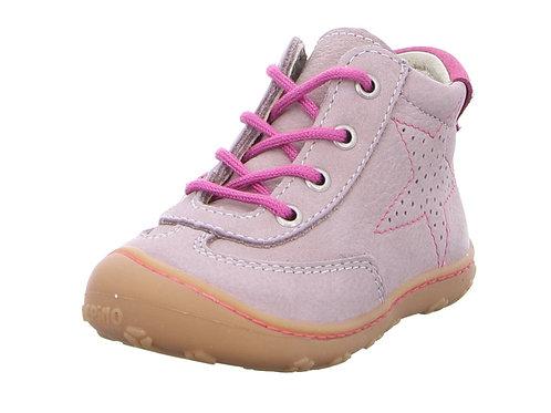 Pepino Sami scarpe pelle nabuk naturale rosa chiaro
