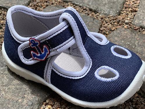 Superfit sandali tela cotone chiusura velcro