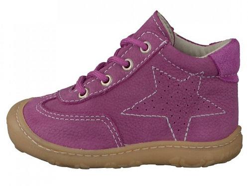 Pepino Sami scarpe pelle nabuk naturale fuxia