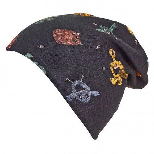 Sterntaler berretto cotone pesante con fodera in cotone felpato