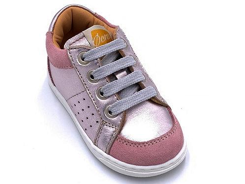 Ocra scarpe sportive in pelle certificata laccio Made in Italy