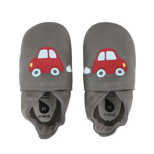 Bobux soft sole auto grigio
