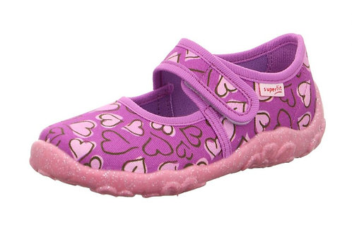 Superfit pantofole asilo modello bebè in cotone e chiusura velcro