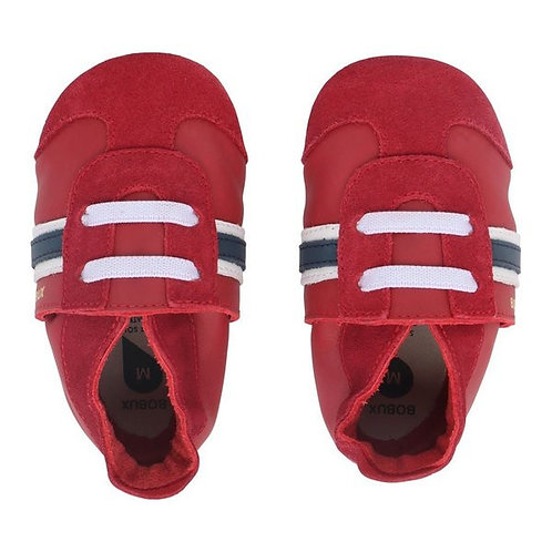 Bobux soft sole Sport rosso