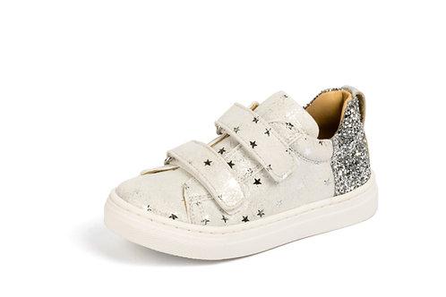 Jff scarpe sportive in pelle certificata chiusura velcro Made in Italy