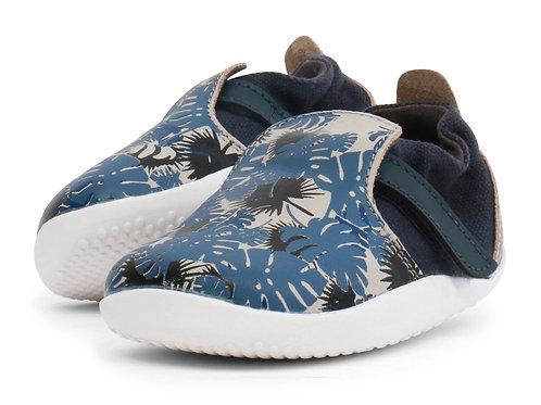 Xplorer Bobux scarpe primi passi super flessibili blu grigio