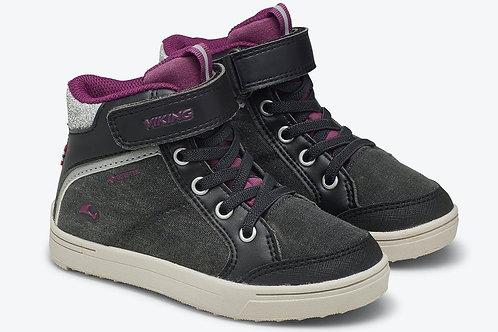 Viking Laila Mid GTX Kinderschuhe scarpe sportive robuste blu velcro