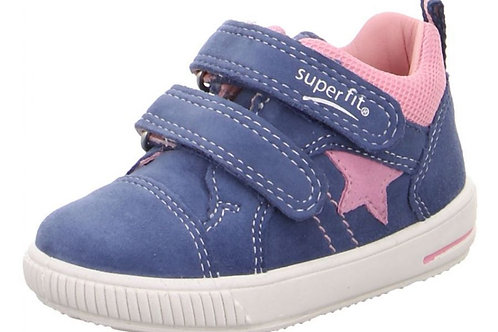 Superfit scarpe sportive bambina in pelle chiusura velcro