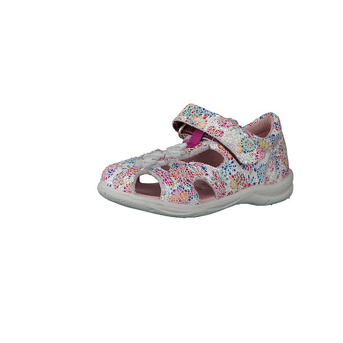 Pepino Chicita sandali gabbietta in pelle calzata affusolata velcro