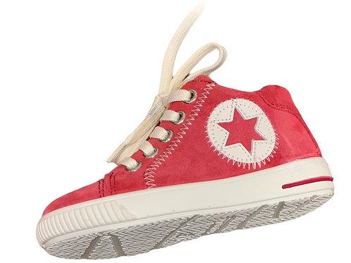 Superfit scarpe sportive bambina, in pelle, chiusura lacci