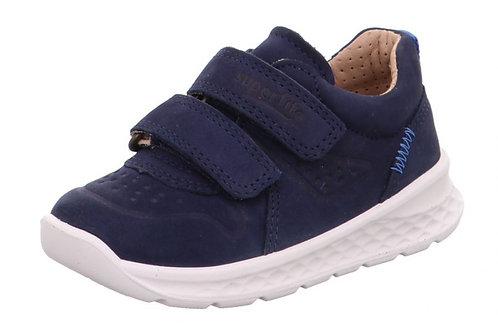 Superfit scarpe sportive in pelle allacciatura velcro suola flessibile