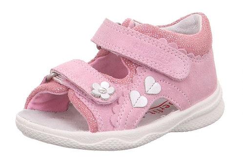 Sandali primi passi Superfit Sandalen bambina con velcro molto flessibili