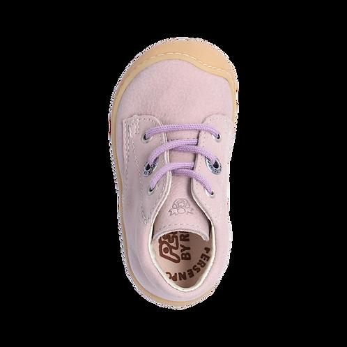 Pepino Cory scarpe primi passi nabuk naturale rosa chiaro