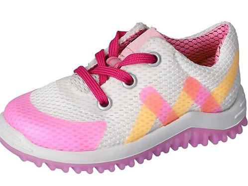 Pepino scarpe ginnastica Pero  bambina chiusura lacci suola flessibile