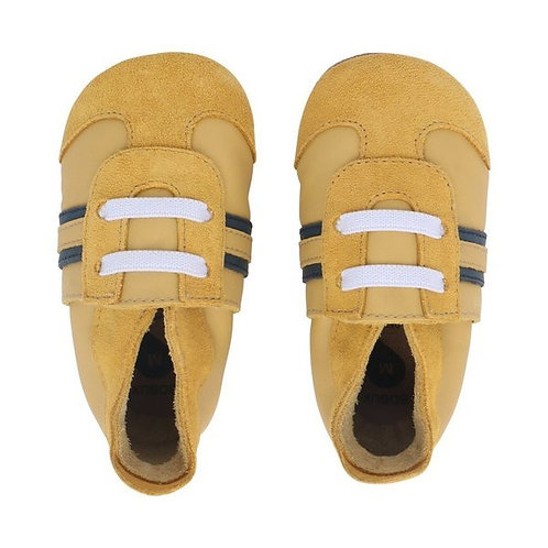 Bobux soft sole Sport giallo