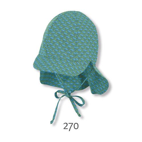 Sterntaler berretto cappello da sole con laccetto e parasole colllo