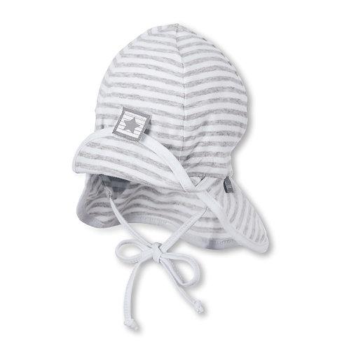 Sterntaler berretto cappello sole in jersey di cotone con parasole e laccetti